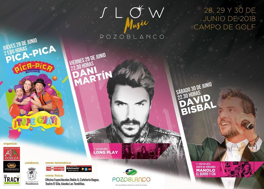 Slow Music Pozoblanco 2018