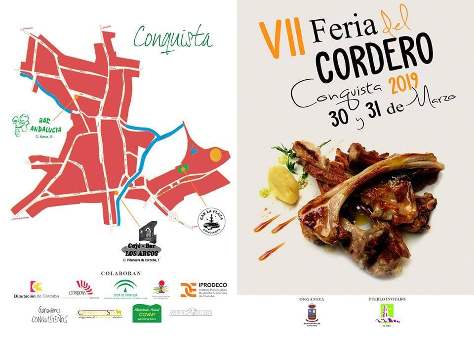 Mapa Feria del Cordero 2019