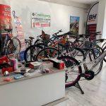 Taller de bicicletas en Pozoblanco