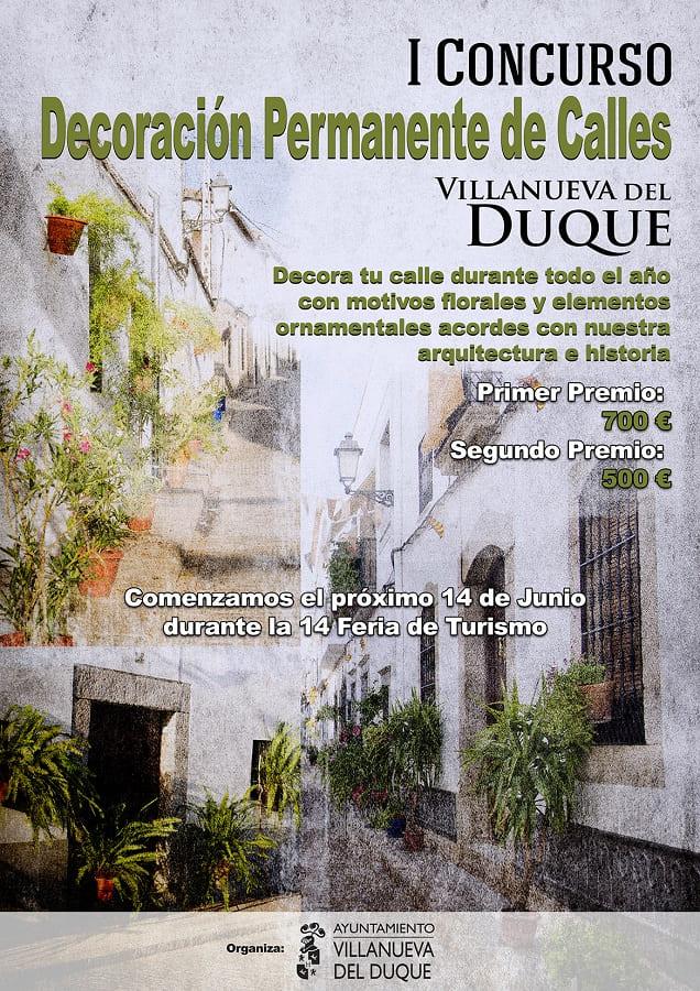 Concurso decoracion Villanueva del Duque 2018
