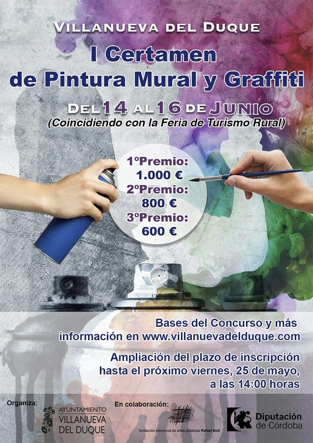Concurso pintura mural Villanueva 2018