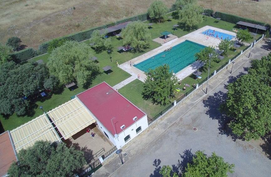 Camping con piscina en Pozoblanco Córdoba