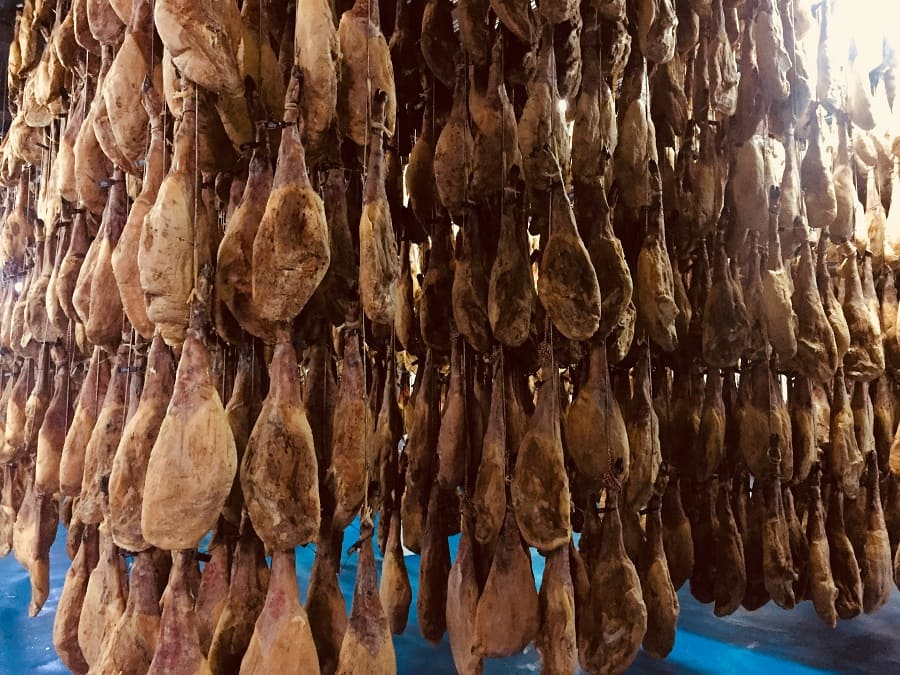 Secadero Belloterra Jamones DOP añada 2016