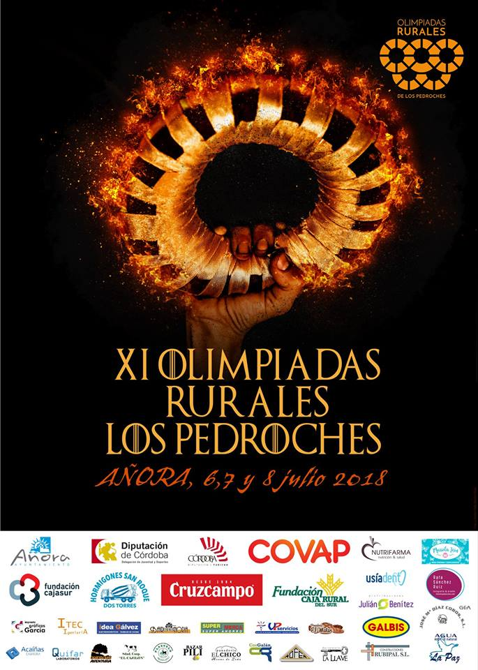 Cartel Olimpiadas Rurales 2018