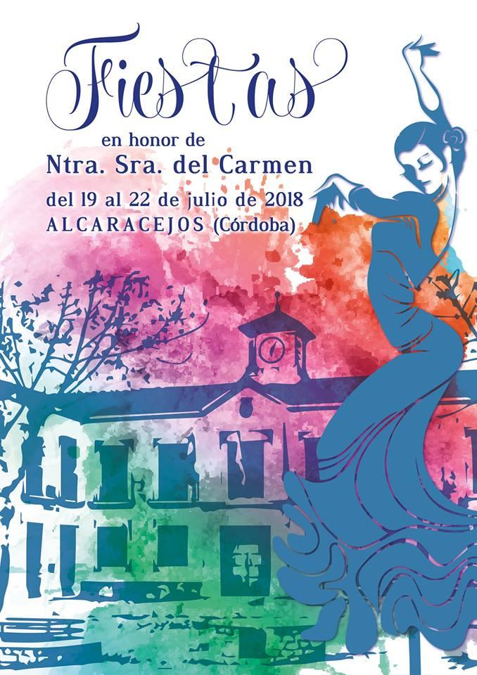 Cartel de la Feria de Alcaracejos 2018