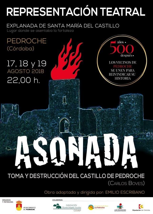 Asonada teatro Pedroche 2018