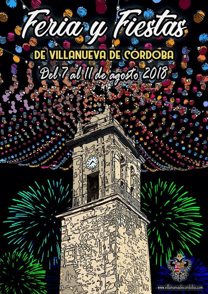 Cartel Feria Villanueva de Córdoba 2018