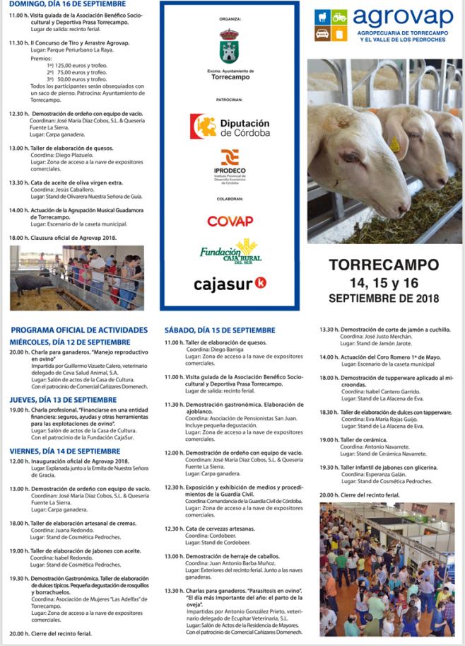 Programa Agrovap 2018