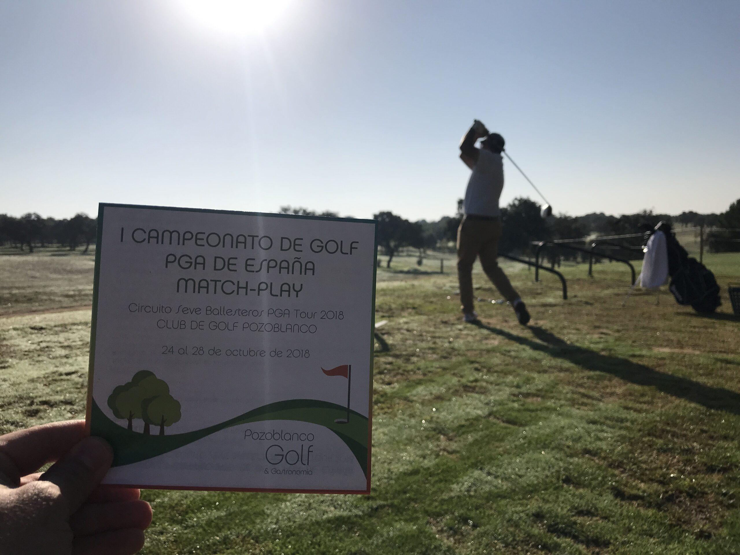I Campeonato de Golf PGA de España Match-Play del Circuito Seve Ballesteros PGA TOUR 2018