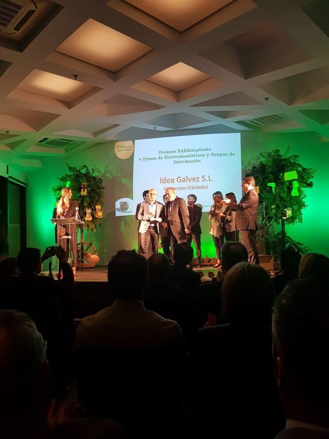 Entrega de Premios Raae Implícate Andalucía 2018