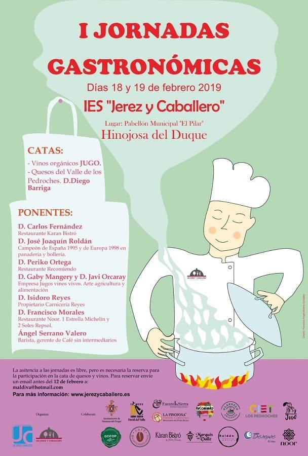 Jornadas Gastronómicas Hinojosa del Duque 2019