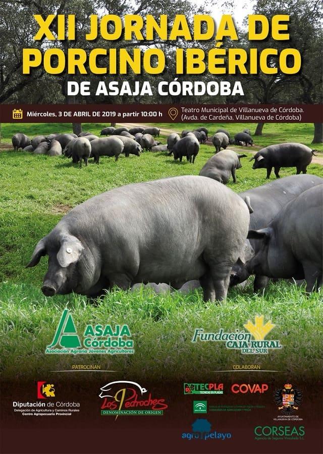 Cartel Jornadas Ibérico Asaja 2019