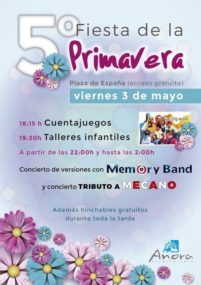 Fiesta Primavera Cruces Añora 2019