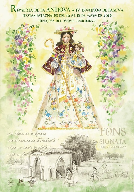 Virgen de la Antigua 2019
