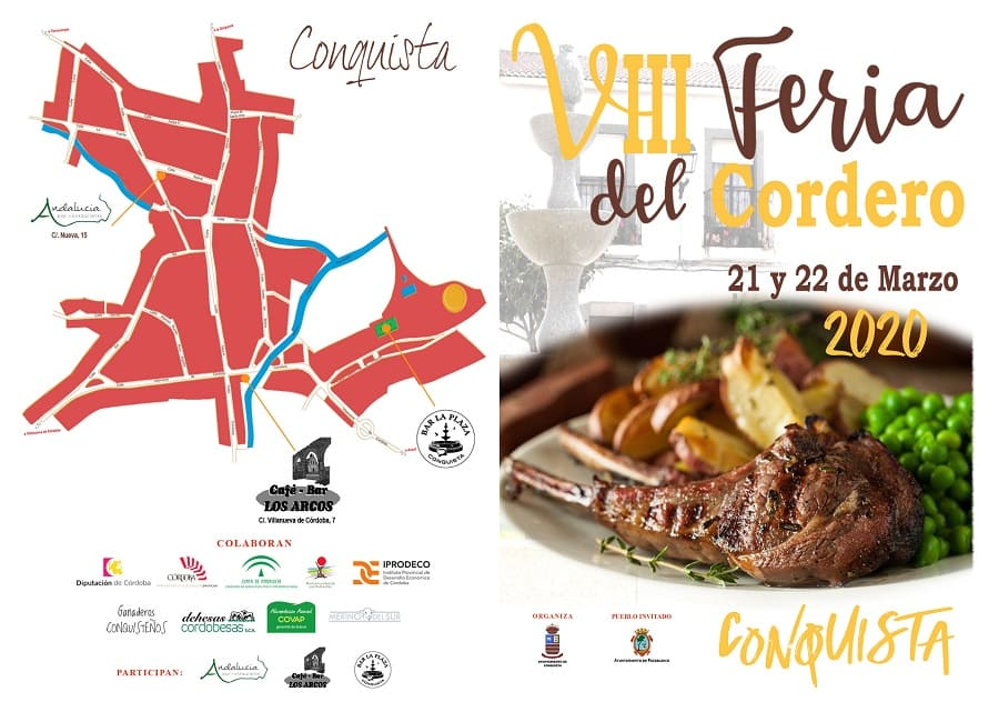Mapa Feria del Cordero